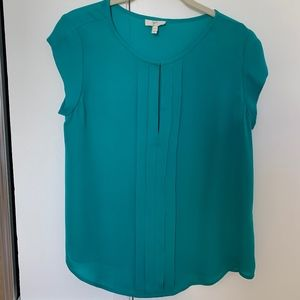 Joie bright teal blouse, size XS. Never worn